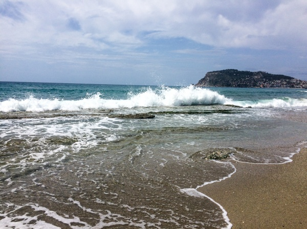 Beautiful beach in Turkey